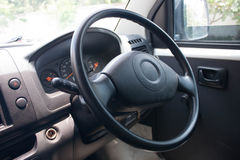 Black Steering Wheel Stock Photos