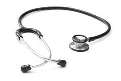 Black stethoscope Stock Image