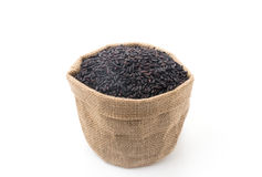 Black sticky gaba rice Stock Photos