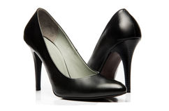 Black stiletto High Heels Shoe Royalty Free Stock Image