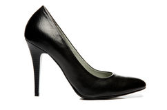 Black stiletto High Heels Shoe Stock Photo