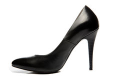 Black stiletto High Heels Shoe Royalty Free Stock Images