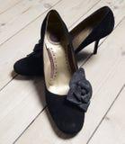 Black stilettos Royalty Free Stock Image