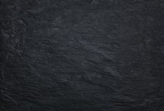 Black stone background with copy space Royalty Free Stock Image