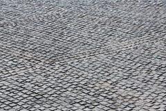 Black stone floor Stock Photo