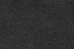 Black stone gravel texture. Black background with fine stone detail Stock Photo