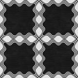 Black stone marble decor Stock Images