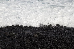 Free Black Stone Shore Royalty Free Stock Image - 31347996