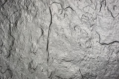 Black stone slab, background. View from above. Royalty Free Stock Photo
