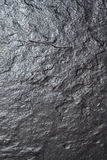Black stone slab, background. View from above. Stock Photos