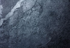 Black stone slate background texture Stock Photo