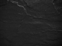 Black stone texture Stock Photography