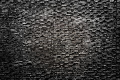 Black stone texture background surface Royalty Free Stock Photography