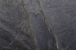 Black stone texture for pattern and background Royalty Free Stock Photos