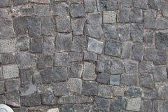 Black stone wall background Royalty Free Stock Image