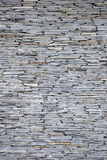 Black Stone Wall  , Background Texture. Stock Image
