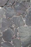 Black stone wall background Stock Photos
