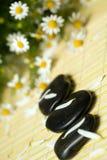 Black stones Royalty Free Stock Photography