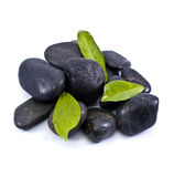 Black stones Royalty Free Stock Photo