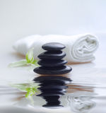 Black stones Royalty Free Stock Images