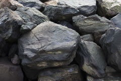Black stones Royalty Free Stock Image