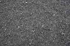 Black stones on a black beach in Iceland texture Royalty Free Stock Photography