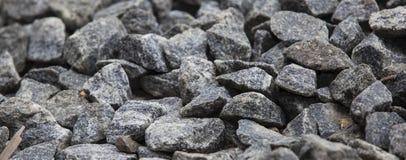 Black stones closeup Royalty Free Stock Photos