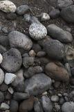Black stones Stock Photography