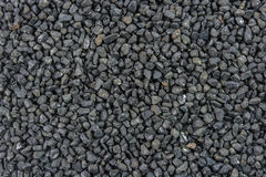 Black stones texture Royalty Free Stock Photo