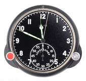 Black stopwatch isolated Royalty Free Stock Image