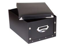 Black storage box Royalty Free Stock Photo
