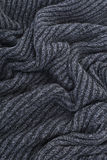 Black straw carpet texture Royalty Free Stock Photography