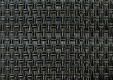 Black straw weaving Royalty Free Stock Photos