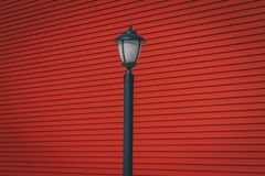 Black Street Lantern Stock Images