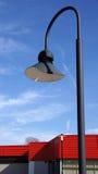 Black street light on blue sky Royalty Free Stock Photography