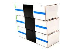 Black stripe box. Stock Photography