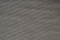 Black striped fabric texture Stock Photography