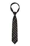 Black striped necktie Royalty Free Stock Photo