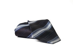 Black striped necktie Stock Photography