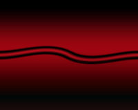 Black stripes background. Red and black background with two big black stripes Royalty Free Stock Image