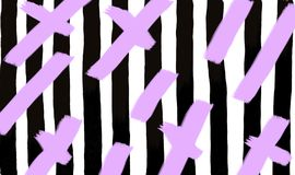Black stripes with violet lines background vector illustration