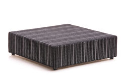 Black stripped bed Royalty Free Stock Images