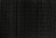 Black strow mat Stock Image