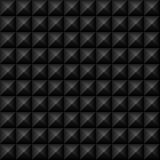 Black Studs Seamless Texture Stock Images