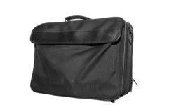 Black stuffed laptop bag Stock Images
