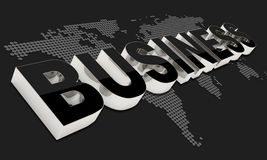 Black Style Business Background Stock Photo