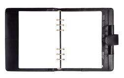 Black Style Paper Notebook Royalty Free Stock Image