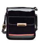 Black stylish bag Stock Photo