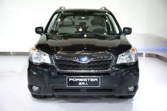 Black subaru forester car Stock Image