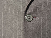 Black suit fabric texture background Royalty Free Stock Image